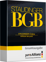 Abbildung: STAUDINGER Online powered by juris